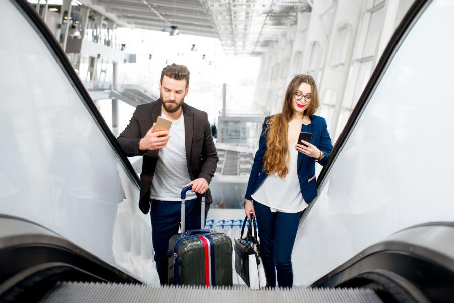 Metade dos viajantes quer evitar interação durante viagens
